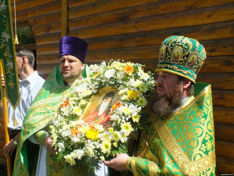 Память преподобного Агапита Печерского в тезоименитом